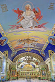 Orthodox Holy Trinity Cathedral . Interior — Stock Photo