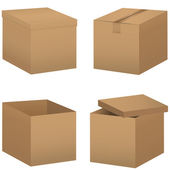 Box set — Stock Vector