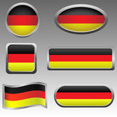 Germany signs — Stock Vector