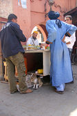 The streets of  Marrakech — Stock Photo