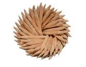 Toothpicks twisted in a spiral — ストック写真