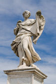 Angel statue, Castel Sant'Angelo, Rome, Italy — Stock Photo