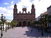 St. Ana cathedral in Las Palmas — Stockfoto