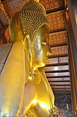 Giant reclining buddha — Stock Photo