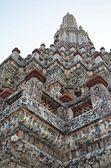 Top of chedi in wat arun temple — Foto de Stock