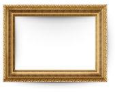 白い背景で隔離の額縁 — ストック写真