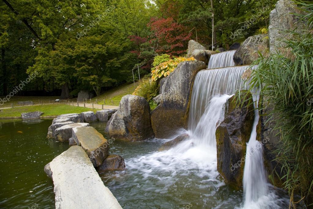 Cascade Chute D'eau Dans le