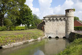 Tower of Water Gate in Cambrai — Foto Stock