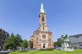 Saint Johans church in Dusseldorf — Stock Photo