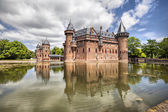 De Haar castle near Utrecht, Netherlands  — Stock Photo