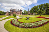 De Haar castle near Utrecht, Netherlands  — Foto Stock