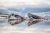 Fjallsarlon Glacier Lagoon, Iceland — Stock Photo