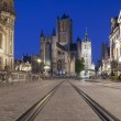 Saint Nicholas Church and Belfry of Ghent — Stock Photo #51095991