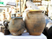 Old jugs — Stock Photo
