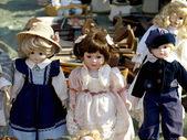 Vecchie bambole — Foto Stock