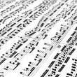 Musical Score — Stock Photo