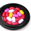 Colored Pills — Stock Photo