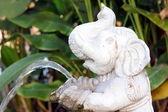 Fontana dell'elefante bianco — Foto Stock
