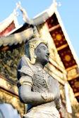 Thai prayer statue — Stock Photo