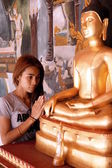 Praying lady — Stock Photo