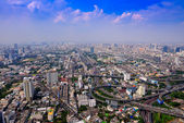 Widok z góry bangkok — Zdjęcie stockowe