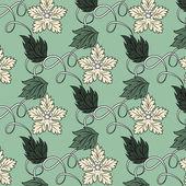 Estampado de flores — Vector de stock