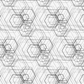 Hexagon pattern — Stock Vector
