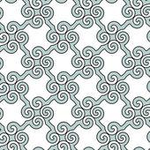 Patrón abstracto espiral — Vector de stock
