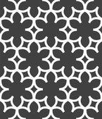 シンプルな花のパターン — ストックベクタ