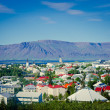 Reykjavik Iceland Beautiful Panorama View — Foto Stock