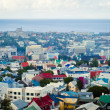 Reykjavik Iceland Beautiful Panorama View — Stock Photo