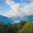 NorwegiLandscape on Road to Trolltunga, Norway — Stock Photo #35763425