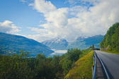 Norwegian Landscape on the Road to Trolltunga, Norway — Foto Stock