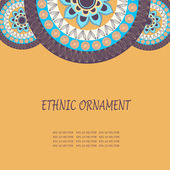 Ethnic ornament texture — ストックベクタ
