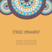 Ethnic ornament texture — Stock Vector