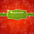 Merry Christmas Card 2014. Vector illustration. — Vector de stock  #35682067