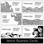 Set of business cards — Wektor stockowy
