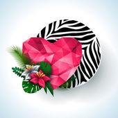 Animal print, zebra texture. — Stock Vector