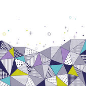 Triangle pattern background. — Cтоковый вектор