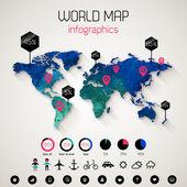 Set elements of infographics. — Stock Vector