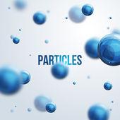 Abstract molecules design. — Stock Vector