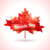 Canada day, vector illustration. — Stock Vector