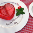 Jelly hearts for Valentines Day — Stock Photo