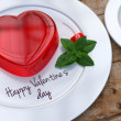 Jelly hearts for Valentines Day — Stok Fotoğraf #39208227