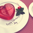 Jelly hearts for Valentines Day — Stockfoto