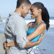 Young Couple at the Beach — Stock Photo