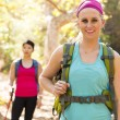 Two Women Hiking — Stockfoto