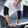 Mechanic Working — Stock Photo