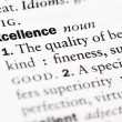 "Stock Photo: Dictionary definition of ""Excellence"""