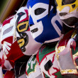 Luchlibre masks — Stock Photo #36743245
